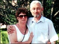 Bob and Jenny Stokes, who died at a Swiss clinic