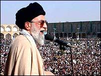 Ayatollah Ali Khamenei. Archive picture