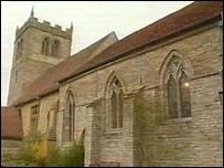 Church in Aston Cantlow, Warwickshire