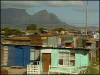 Cape town township