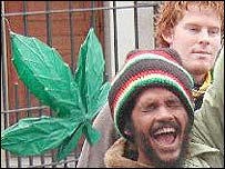 Pro-cannabis campaigners