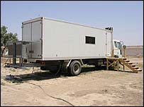 Kut TV and radio on the back of a truck
