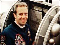 European astronaut Jean-Francois Clervoy