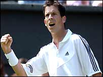 Henman goes through to the 3rd round with ease