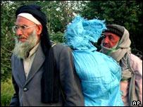 Two elderly men in Pakistan