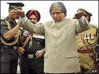 Indian President APJ Abdul Kalam
