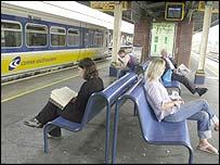 Connex passengers