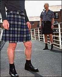 Men in skirts