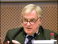 Chris Patten, European Commissioner