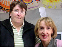 Esther O'Reilly and Janet Owen, Rape Crisis Line