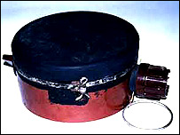 A PMN anti-personal mine like the one which injured Stuart Hughes