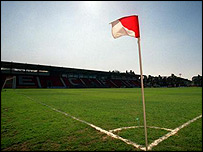 Exeter City's St James' Park ground