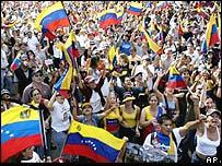Strikers in Venezuela