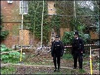 The crime scene - Martin's farm