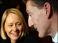 Labour's Cathy Jamieson and Tavish Scott, Lib Dem