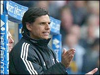 Fulham's new manager Chris Coleman