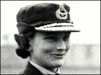 Princess Alice as air chief commandant of the women's auxiliary force.