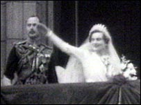 On the day of her wedding to Prince Henry of Gloucester in 1935