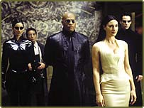 Carrie-Anne Moss, Randall Duk Kim, Laurence Fishburne, Monica Bellucci