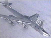 Russian Tu-95 bomber (file picture)