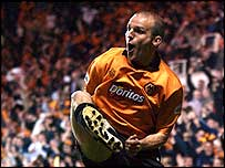 Wolves midfielder Alex Rae