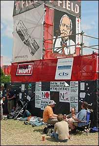 Tony Benn banner