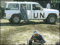 UN inspectors in Iraq before the war