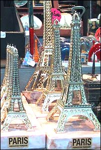 Eiffel Tower models