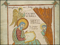 Lindisfarne gospel - St Matt