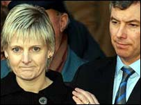 Sally Clark and husband