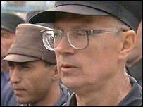 Eduard Limonov in prison