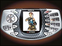 Nokia N-Gage gaming mobile