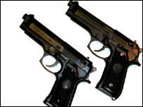 Ball bearing guns