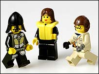 Lego men, Lego