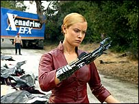Kristanna Loken as the TX