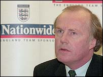 David Davies was the FA's acting chief executive prior to the appointment of Mark Palios