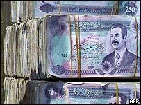 Saddam dinars