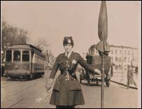 Bygone years: the first traffic warden in DC, 1920