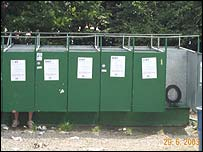 Glastonbury toilet