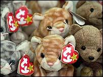 Beanie soft toys
