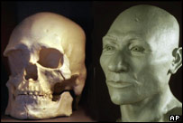 Kennewick Man, AP