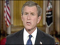 George W Bush, US President