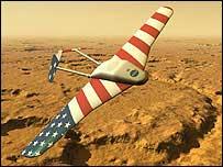 Mars aircraft