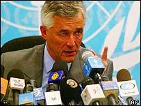 UN envoy Sergio Vieira de Mello