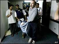 Palestine Hotel attack