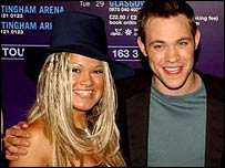 Zoe Birkett with Will Young