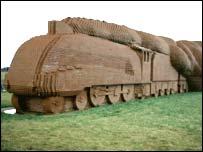 Train by David Mach