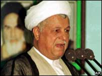 Akbar Hashemi-Rafsanjani (image from 1999)
