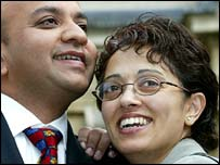 Jay and Trupti Patel - after the 35-year-old was found not guilty