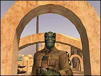 Screenshot of Star Wars Galaxies, Lucas Arts